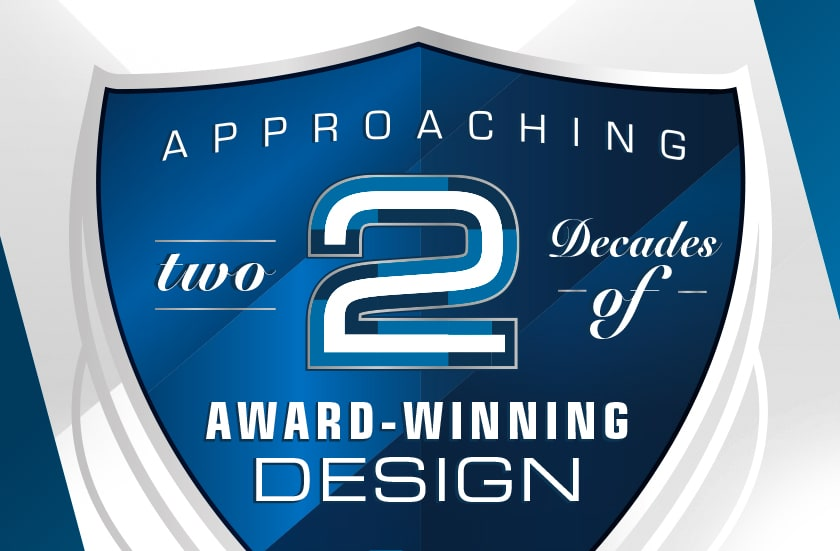 Kellen Design is approaching 2 decades of award winning graphic design